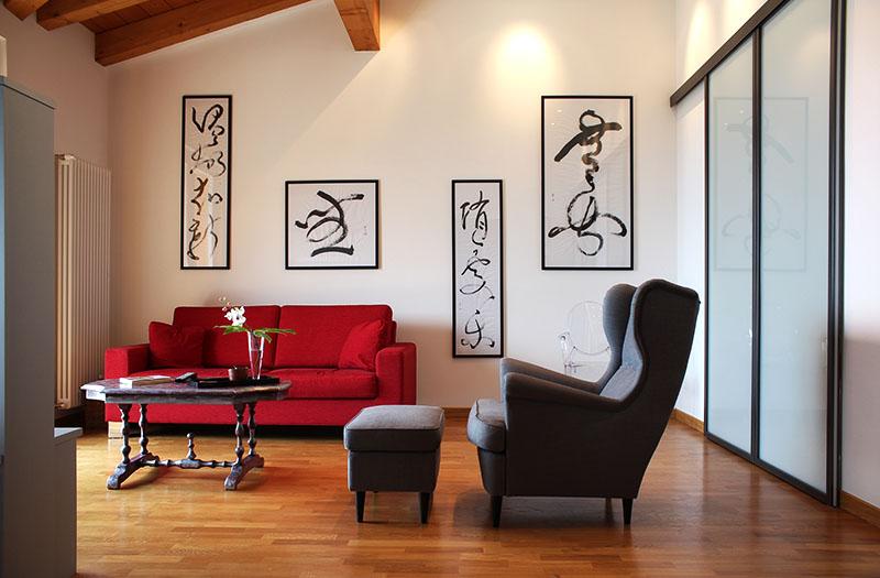 progettazione interni appartamento