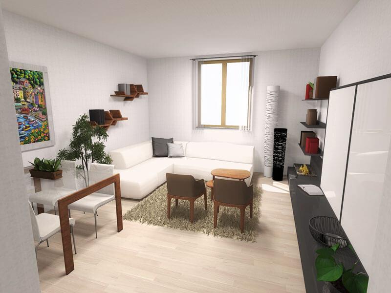 progettazione spazi interni