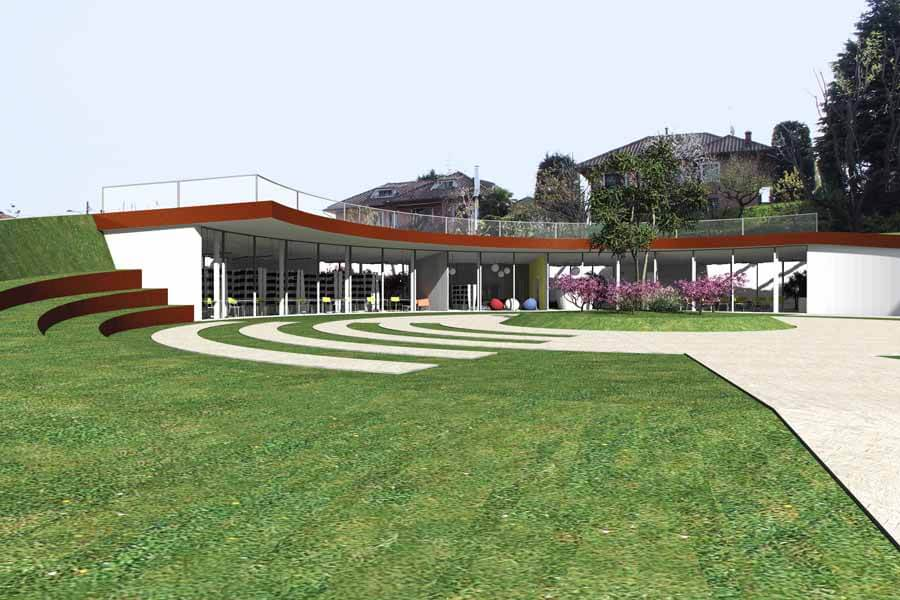 realizzazione biblioteca comunale